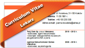 CV Lekarz